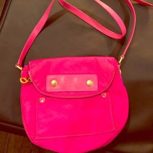 Marc by Marc Jacobs Pink Nylon Cross Body Bag